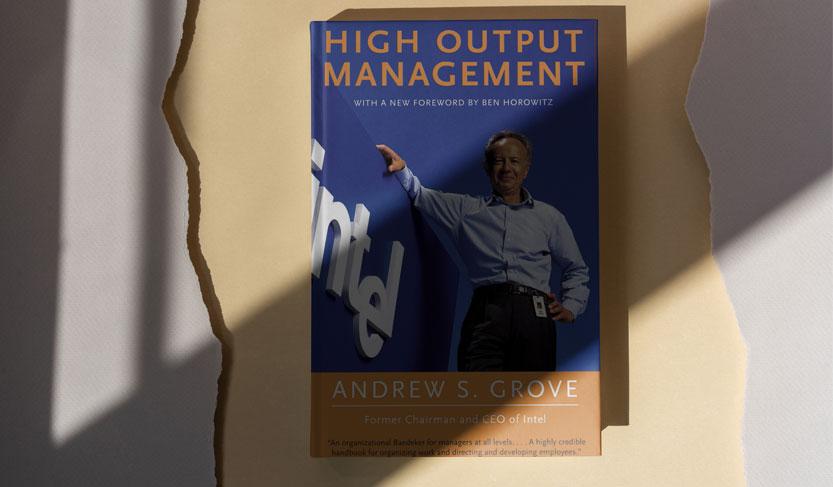 کتاب مدیریت با بازده بالا یکی بهترین کتاب های استارتاپی