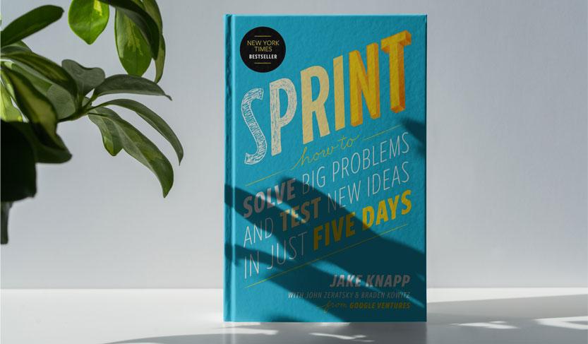 کتاب اسپرینت یکی از بهترین کتاب های کارآفرینی